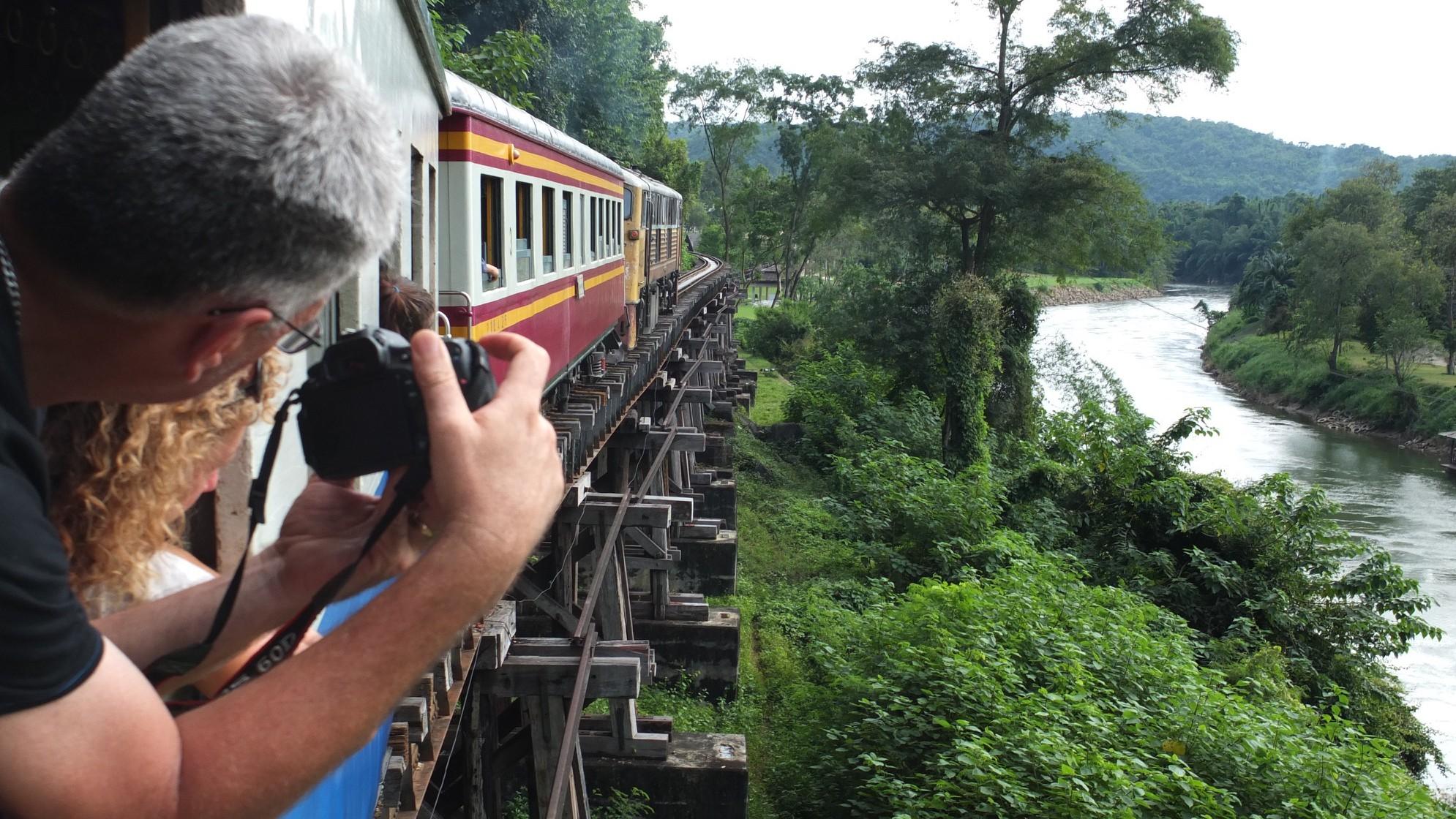 Tham-Krasae-Brücke Thailand, Dominik Sommerer, Dominiks Welt