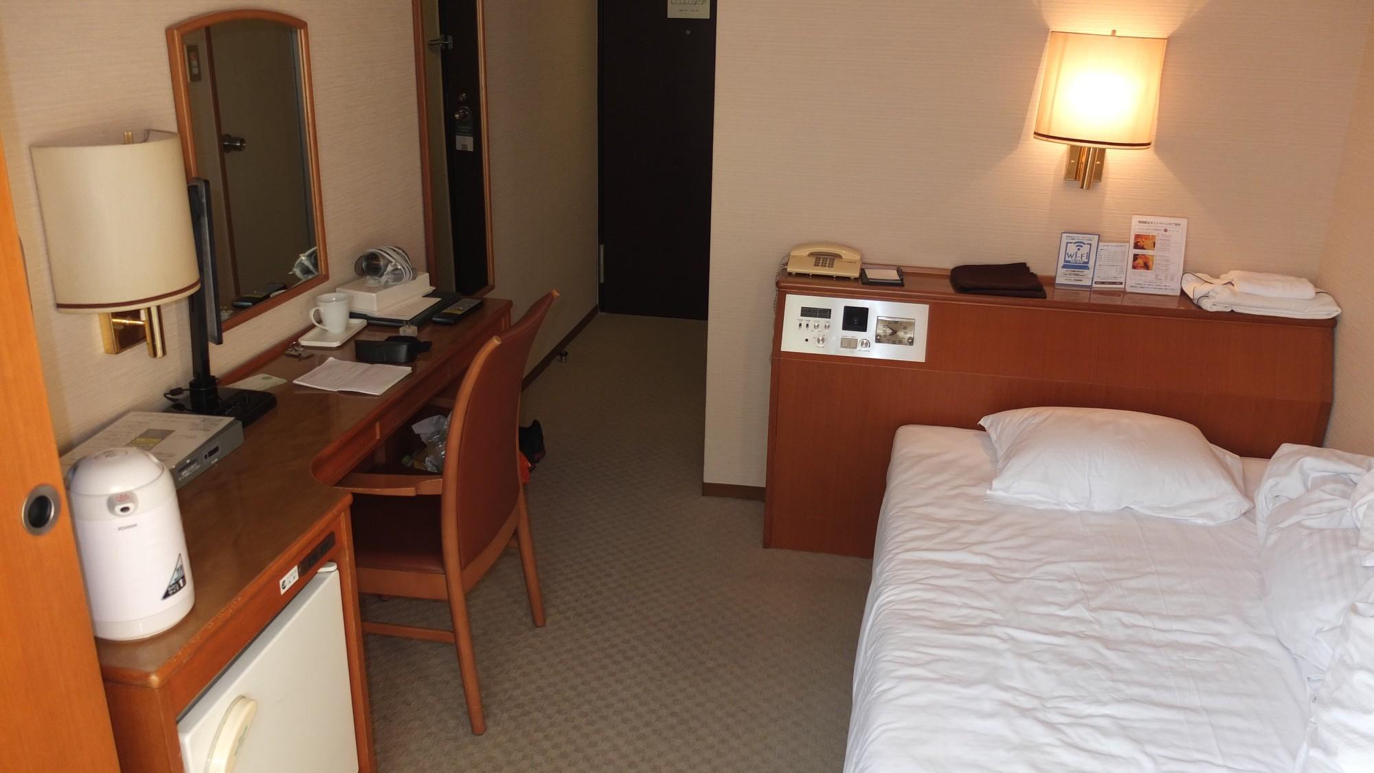 Hotelzimmer Area One Kobe, Dominik Sommerer, Dominiks Welt