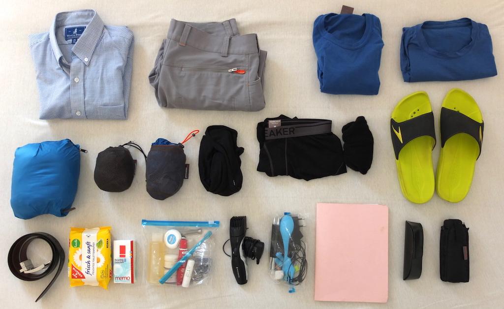 Packliste Handgepäck 2016