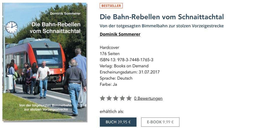 Bestseller_Die Bahn-Rebellen vom Schnaittachtal_Dominik Sommerer